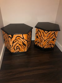 Matching Tiger End Tables