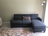 Charcoal Gray Sofa Arlington, 22202