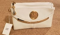 BRAND NEW NEVER USED White MK labelled purse Woodbridge, 22192
