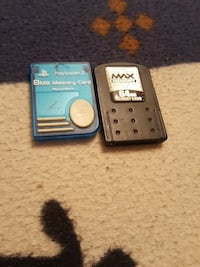 blue PS2 5MB memory card Edmonton, T5C 0S8
