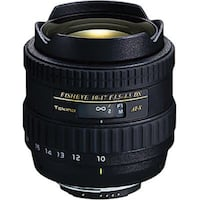 Tokina 10-17mm f/3.5-4.5 AT-X 107 AF DX Fisheye Lens for Canon  Virginia Beach, 23451