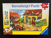 Puzzles for toddler - farmer