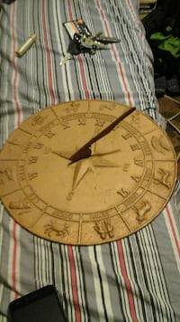 Sundial with astrological