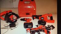 Black and decker 18v tool set Oakville, L6H 6T1