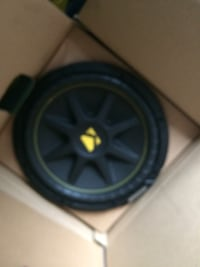 Kicker 12 inch sub like new  35 mi