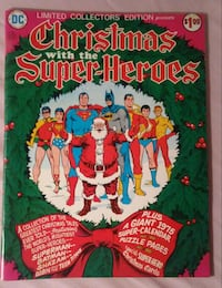 1974 C-34 Christmas with the Super-Heroes Comic Bo Cherry Hill, 08003