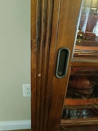 brown wooden 2-panel door Ashburn, 20147