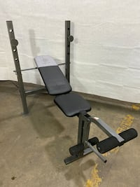 Brand new Gold's Gym XR 6.1 Bench. Retails for $70. (Bench only)