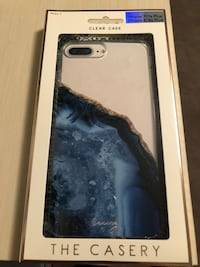 Blue geode iPhone case for 6/7/8 plus