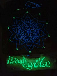 traditional mendala style glowing table top Colorado Springs, 80905