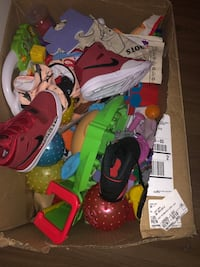 Mostly Toys have 2 pairs of sneakers