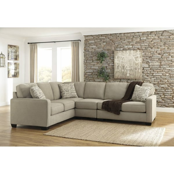 Alenya RAF Loveseat + Armless Chair + LAF Sofa  - Brand New - Free Home Delivery SF bay area