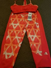 Adidas work out suit with tags Waterloo, N2J