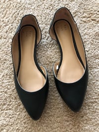 Pointy black flats size 7 Virginia Beach, 23464