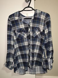 Warehouse one plaid top