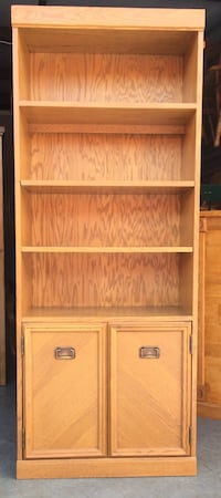 6 Tier Oak Bookcase / Storage / Display Shelves Lakeville, 55044