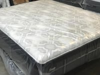MATTRESS QUEEN SEALY PILLOWTOP 50 down
