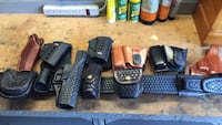 Former police officer selling gun belt and off duty holsters.  Norfolk, 23518