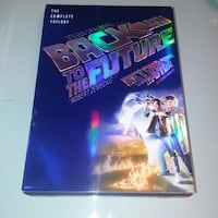 Used Back to the future dvd trilogy set Excellent condition 3 dvds     Edmonton, T6X 1G7