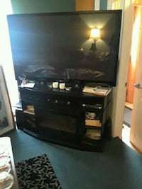 55 inch LG smart TV and fireplace TV Stand  Edmonton