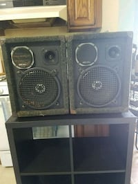 two black and gray speakers Seaford, 11783