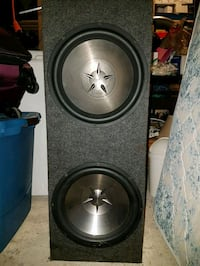 Massive subwoofer for car Pointe-Claire, H9S 5G6