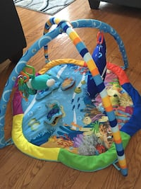 Baby's multicolored activity gym Brampton, L6S 6A8