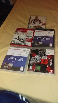 PlayStation 3 games Suitland-Silver Hill, 20746
