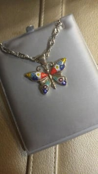 Butterfly pendant and necklace Winnipeg, R3J 0N9