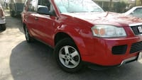 red Ford F-150 extra cab pickup truck Stockton