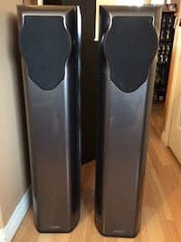 Pair of Mission M52 Tower Speakers (Made in England) CALGARY