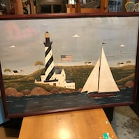 Framed lighthouse print Perry Hall, 21128