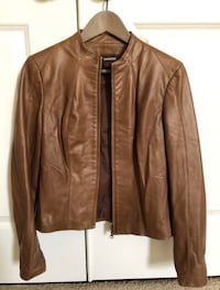 Women's brown leather jacket (XS) Alexandria, 22315