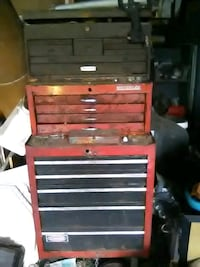 black and red tool cabinet 549 mi