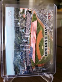 Dodgers opening day card Paramount, 90723