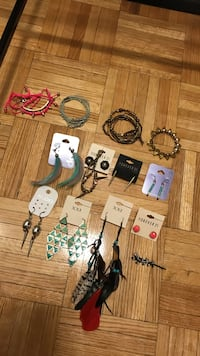 Aldo, forever 21, Clair's bracelets and jewellery Mississauga, L4Y