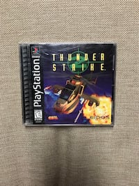 Thunder Strike For Sony PlayStation PS1 With Instruction Booklet Tested & Works  Louisville, 40213