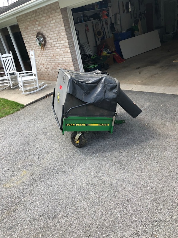"John Deere MC519 Cart w 54"" Powerflow"