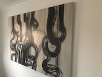Huge canvas abstract painting 4 x 6 foot artwork