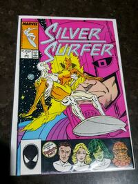 #1 Silver Surfer Marvel comic book
