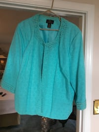 teal cardigan Las Cruces, 88011