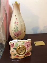 "Lenox vase only (clock sold) 9"" Centereach"