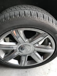 Barely used 22 inch tires(Wheels are not included) Gibsonton, 33534