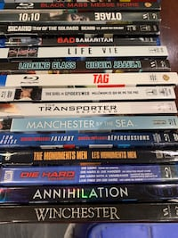 Blu-rays lots them check the pics out