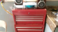 red and black tool chest Calgary, T2B 3C4