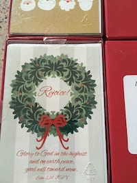 4 boxes of Christmas card. Methuen, 01844