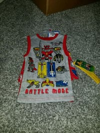 NWT BOYS 2 PIECE POWER RANGER PJS SIZE 4 Fountain Inn, 29644
