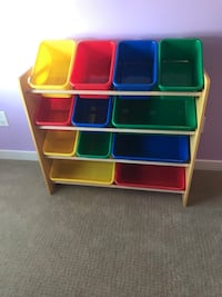 Toys storage bins and stand  Surrey, V3Z 3Y3