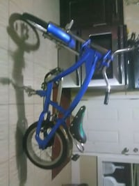 blue and black BMX bike Surrey, V3W 1X5