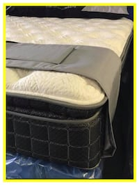 King Box Foundation & Mattress - NEW - In Plastic - Warranty Manassas